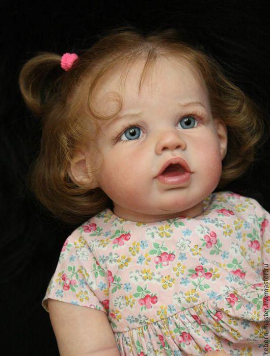 Куклы-младенцы и reborn ручной работы. Ярмарка Мастеров - ручная работа. Купить Элора. Handmade. Тёмно-синий, винил