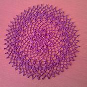 Для дома и интерьера ручной работы. Ярмарка Мастеров - ручная работа мини-салфетка. Handmade.