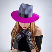 Hats1 handmade. Livemaster - original item Fields of fuchsia. Handmade.