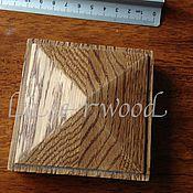 Для дома и интерьера ручной работы. Ярмарка Мастеров - ручная работа пирамидки из дерева. Handmade.