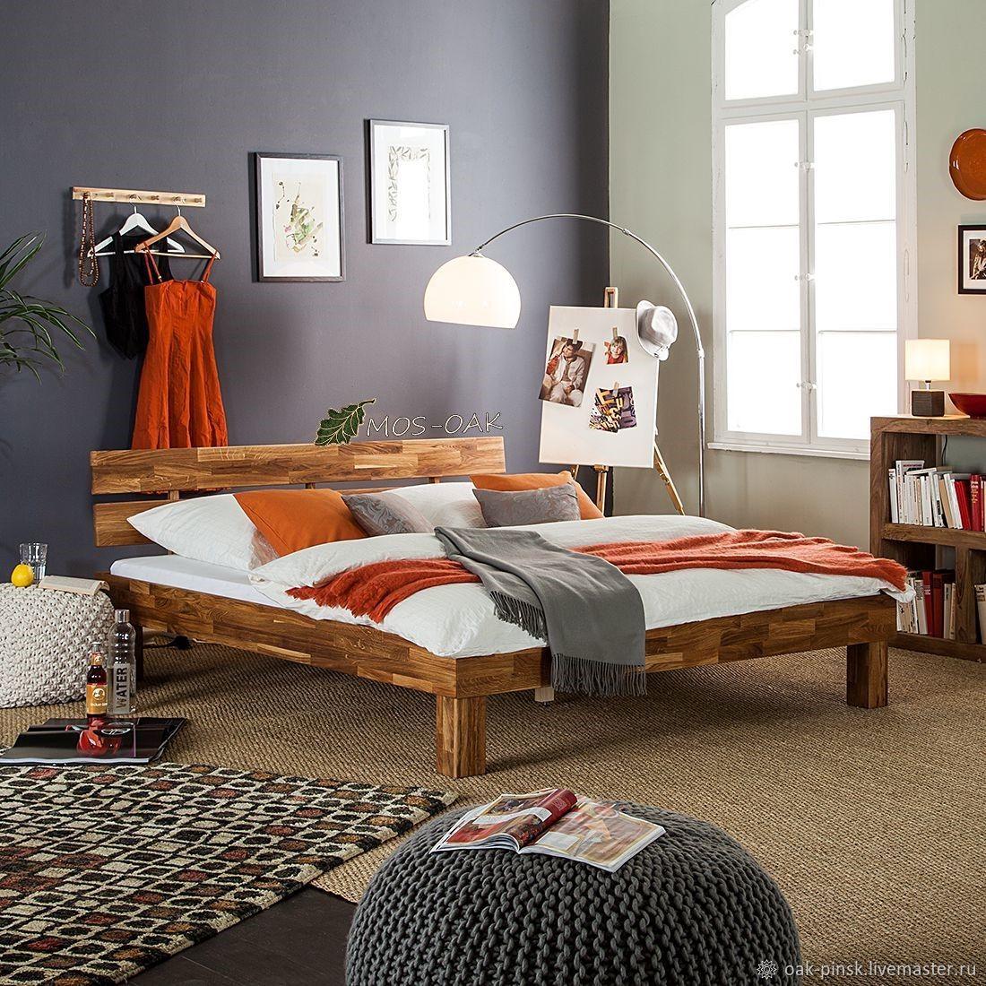 Кровать Judith из массива дуба, Кровати, Пинск,  Фото №1