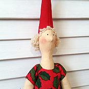 Куклы и игрушки ручной работы. Ярмарка Мастеров - ручная работа Фея с гусем. Handmade.