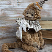Куклы и игрушки ручной работы. Ярмарка Мастеров - ручная работа Обезьянка Киото. Handmade.