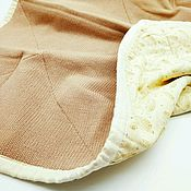 Детское одеяло на подкладе (двустороннее стеганое одеяло
