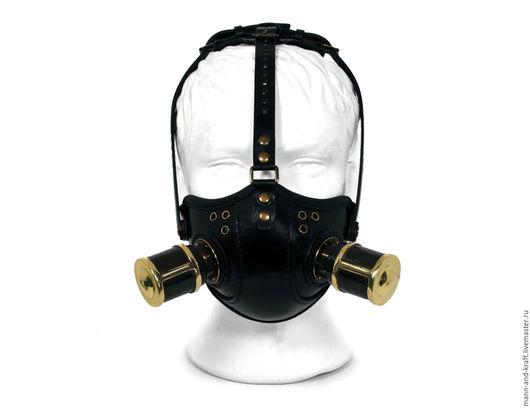 """Аксессуары ручной работы. Ярмарка Мастеров - ручная работа. Купить Стимпанк маска - """"Raider Respirator"""" BLB - с насадками. Handmade. Стимпанк"""