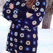 Одежда ручной работы. Ярмарка Мастеров - ручная работа Пуловер из квадратов. Handmade.