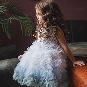 Работы для детей, ручной работы. Ярмарка Мастеров - ручная работа Платье из лепестков. Handmade.