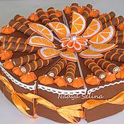 Подарки к праздникам ручной работы. Ярмарка Мастеров - ручная работа Торт из фетра. Handmade.