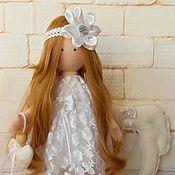 Кукла игровая, Ангел текстильный, Невеста