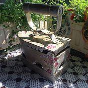 Для дома и интерьера ручной работы. Ярмарка Мастеров - ручная работа Старый чугунный угольный утюг. Handmade.