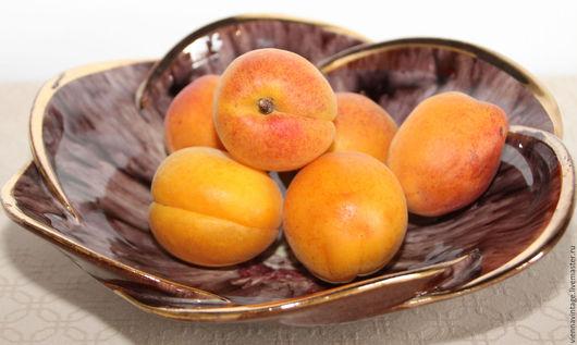 """Винтажная посуда. Ярмарка Мастеров - ручная работа. Купить Тарелка """"Цветок"""". Handmade. Тарелка для фруктов, тарелка винтаж, Керамика"""