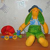 Куклы и игрушки ручной работы. Ярмарка Мастеров - ручная работа Кролик Мартин и улитка Сью. Тильды. Handmade.