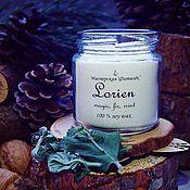 Свечи ручной работы. Ярмарка Мастеров - ручная работа Lorien - ароматическая свеча в банке 200 мл.. Handmade.