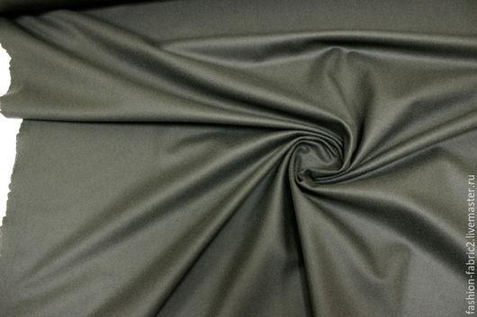 Шитье ручной работы. Ярмарка Мастеров - ручная работа. Купить Шерстяное сукно темно-болотное PRT 8111621 Италия Цена за метр. Handmade.