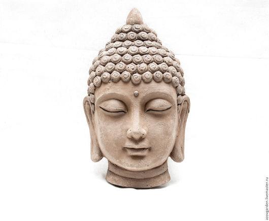 Интерьерные  маски ручной работы. Ярмарка Мастеров - ручная работа. Купить Будда интерьерная маска из бетона под золото, бронзу  этностиль. Handmade.