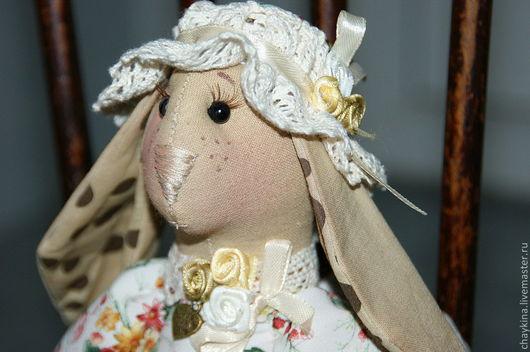 Игрушки животные, ручной работы. Ярмарка Мастеров - ручная работа. Купить Крольчиха Роза. Handmade. Крольчиха, кролик, подарок