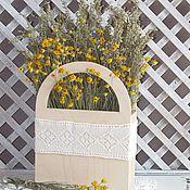 Цветы и флористика ручной работы. Ярмарка Мастеров - ручная работа Букет в коробе-корзине. Handmade.