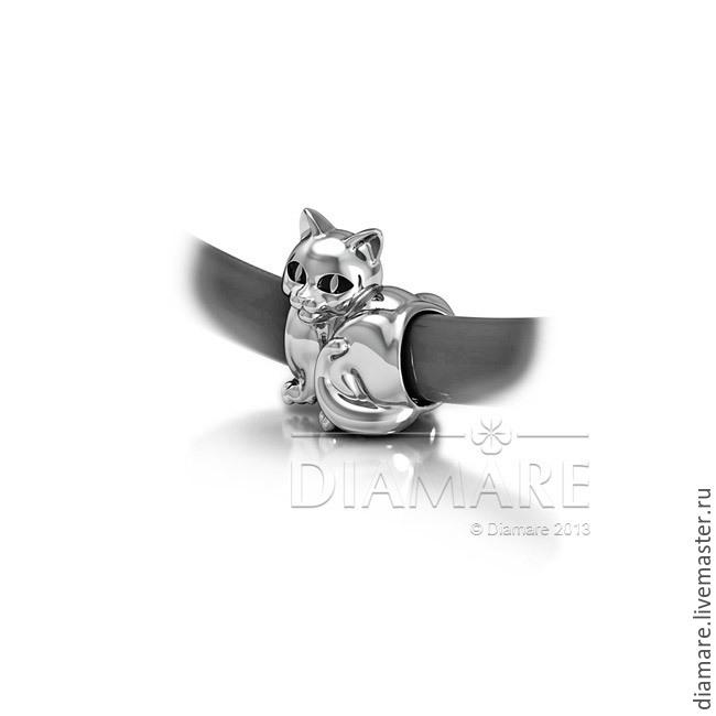 Картинки по запросу кошка шарм на браслет пандора