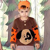 Работы для детей, handmade. Livemaster - original item Children`s warm jacket for the boy