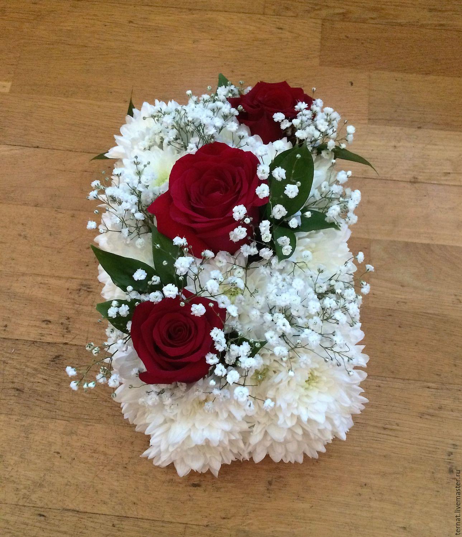 17 май 2015. В новом выпуске мастер-класса йошкаролинка екатерина попова продемонстрировала, как оформить корзину живыми цветами.