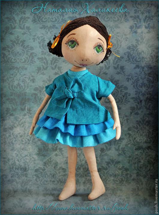 """Куклы тыквоголовки ручной работы. Ярмарка Мастеров - ручная работа. Купить Коллекционная кукла """"Ксюша"""". Handmade. Коллекционная кукла"""