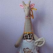 Для дома и интерьера ручной работы. Ярмарка Мастеров - ручная работа Пакетница жирафа. Жаннет.. Handmade.