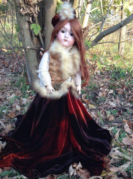 Винтажные куклы и игрушки. Ярмарка Мастеров - ручная работа. Купить Изящная антикварная кукла Max Handwerck. Handmade. Бежевый