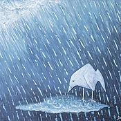 """Картины и панно ручной работы. Ярмарка Мастеров - ручная работа Панно """"Одиночество"""". Handmade."""