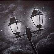 Картины и панно ручной работы. Ярмарка Мастеров - ручная работа Фонари. Handmade.
