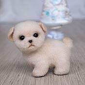 Куклы и игрушки handmade. Livemaster - original item Puppy Rocky. Handmade.