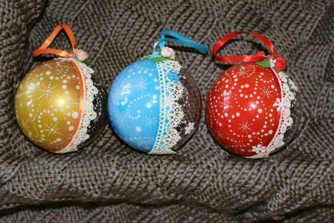 которые шары на елку с фотографиями первый