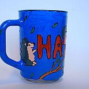 """Посуда ручной работы. Ярмарка Мастеров - ручная работа Именная кружка """"Наташа"""". Handmade."""