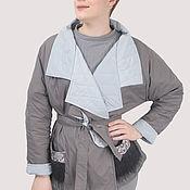 Одежда handmade. Livemaster - original item Light jacket plus size oversize quilted demi season. Handmade.