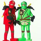 Одежда ручной работы. Ярмарка Мастеров - ручная работа Лего-Ниндзяго костюм для аниматоров. Handmade.