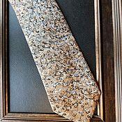 Аксессуары handmade. Livemaster - original item Tie Metamorphosis. Original painting.. Handmade.