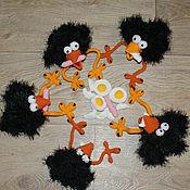 Куклы и игрушки ручной работы. Ярмарка Мастеров - ручная работа Воронёнок. Handmade.