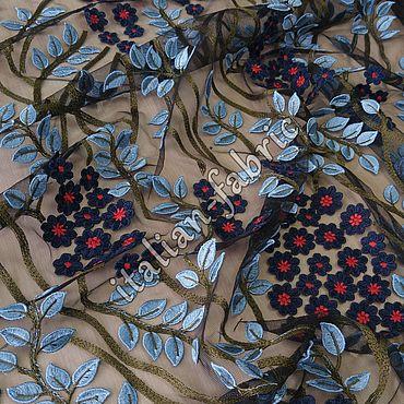 Материалы для творчества ручной работы. Ярмарка Мастеров - ручная работа Вышивка по сетке 01704. Handmade.