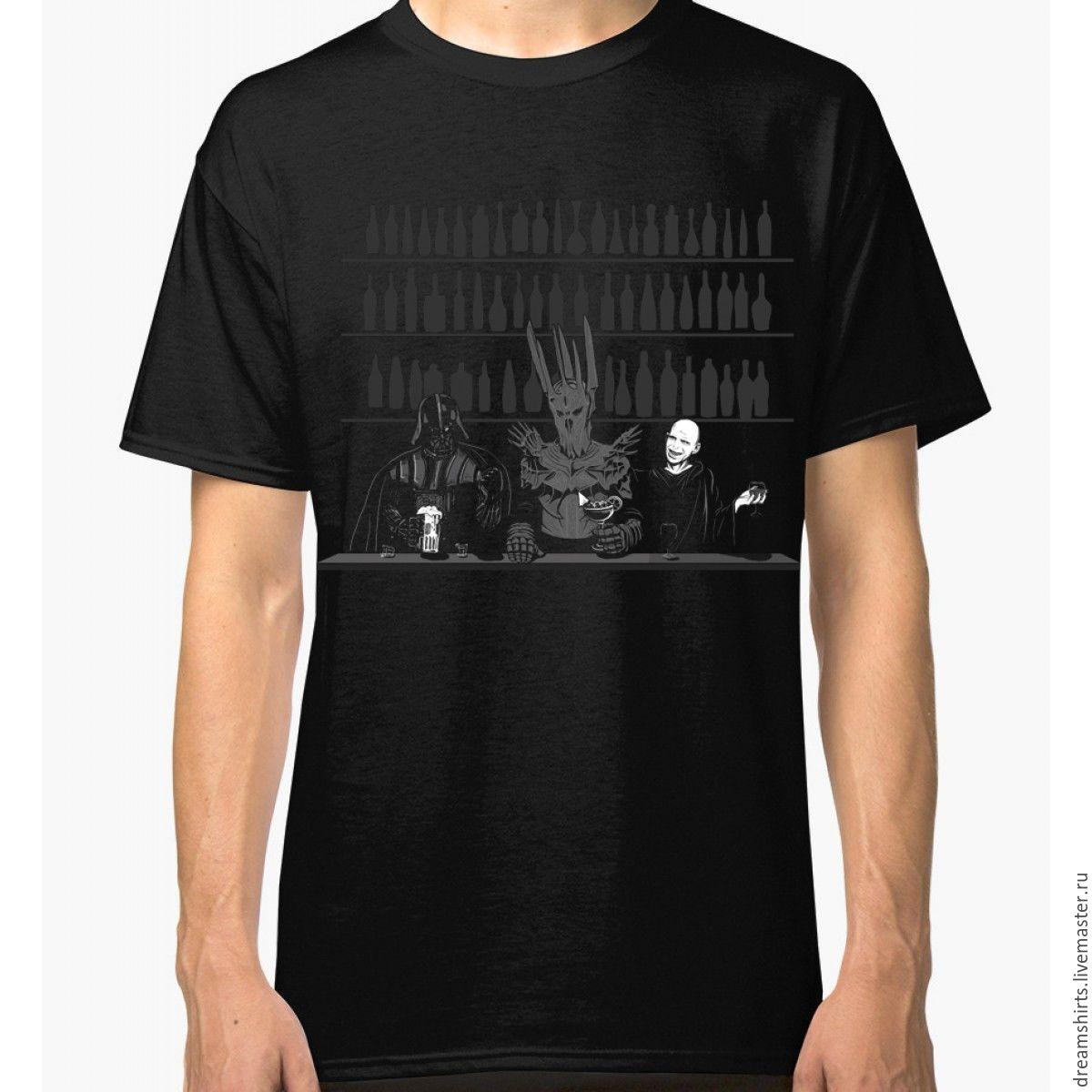 "Футболка хлопковая ""Dark Side Party"", T-shirts, Moscow,  Фото №1"
