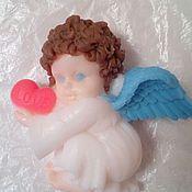 """Косметика ручной работы. Ярмарка Мастеров - ручная работа Мыло ручной работы """"ангелочек с сердцем"""". Handmade."""