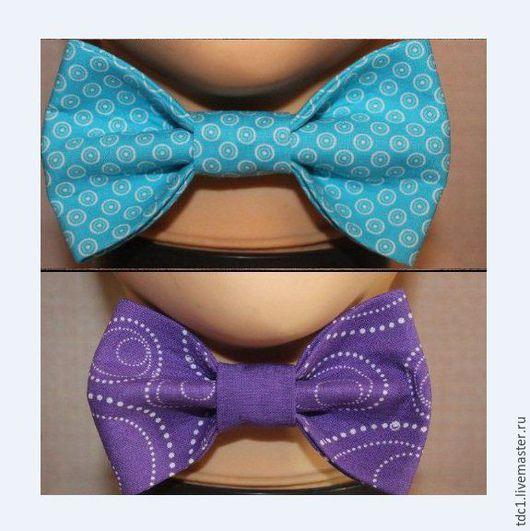 Галстуки, бабочки ручной работы. Ярмарка Мастеров - ручная работа. Купить Галстук бабочка. Handmade. Голубой, галстук бабочка женский