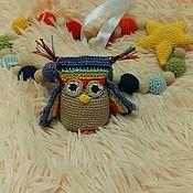 Одежда handmade. Livemaster - original item Slingobusy with the owl!madabusi, necklaces for feeding. Handmade.