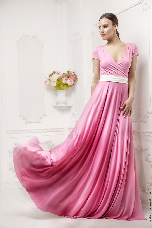 Розовые Платья Купить В