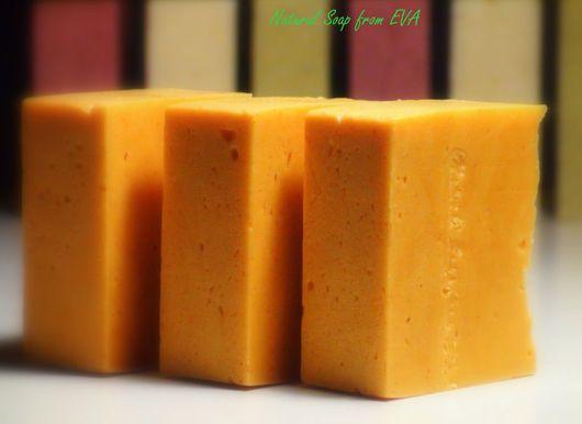 Мыло ручной работы. Ярмарка Мастеров - ручная работа. Купить Взбитое мыло ручной работы «Сочные цитрусы». Handmade. Желтый