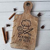Канцелярские товары handmade. Livemaster - original item Notebook for recording recipes. Handmade.