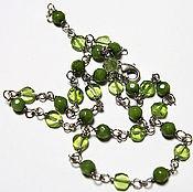 Украшения handmade. Livemaster - original item Necklace with peridot. Handmade.