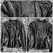 Одежда ручной работы. Ярмарка Мастеров - ручная работа Куртка СШипами. Handmade.