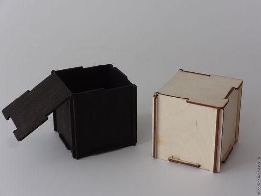 """Упаковка ручной работы. Ярмарка Мастеров - ручная работа. Купить Коробка фанерная """"Самосборка"""". Handmade. Бежевый, деревянные заготовки"""