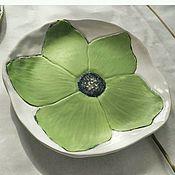 Тарелки ручной работы. Ярмарка Мастеров - ручная работа Блюдо керамическое. Handmade.