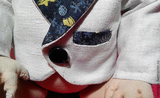 Одежда для кукол ручной работы. Ярмарка Мастеров - ручная работа. Купить Готовый пиджачок для куклы или мишки. Handmade. Пиджак
