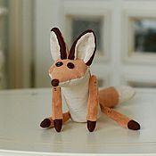 Куклы и игрушки handmade. Livemaster - original item Fox cartoon